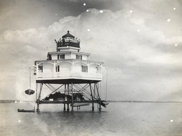 Mathias Point Lighthouse 1915