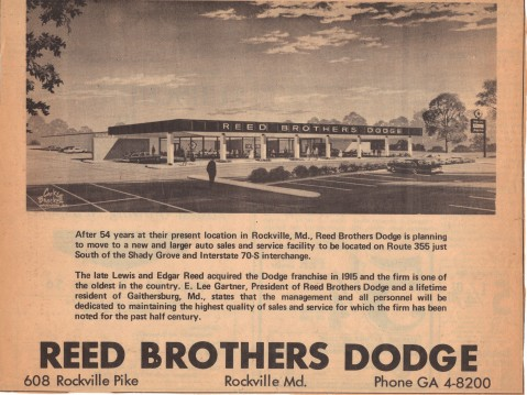 Reed Brothers Dodge New location