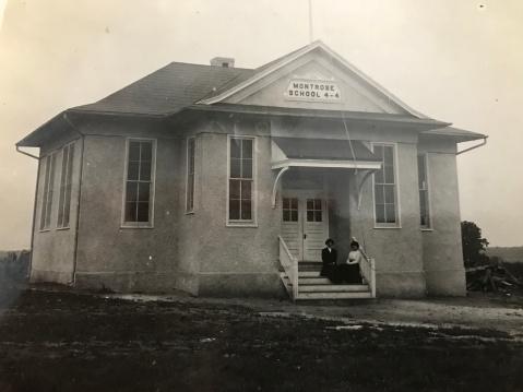 Historic Montrose School, 1909