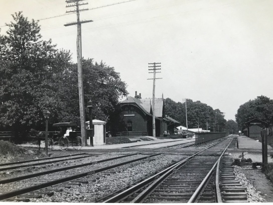 Rockville B&O Train Station