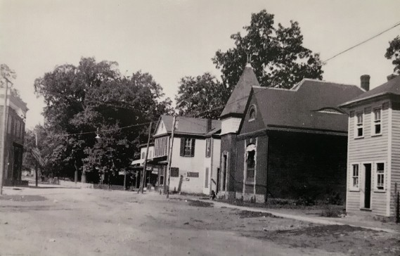 Diamond Avenue in Gaithersburg 1914