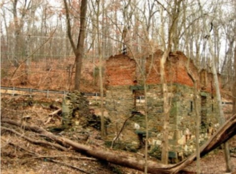 Clopper Grist Mill ruins