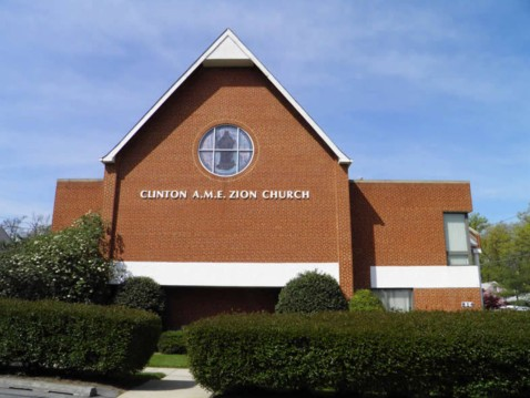 Zion A.M.E. Church, Rockville