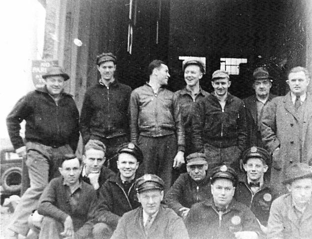 Rockville Garage Sales & Service Staff circa 1920s.