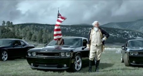 An American Revolution Dodge ad