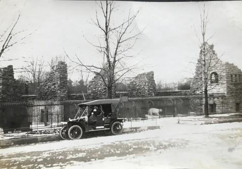 Bear Pits Buffalo Zoo 1920s