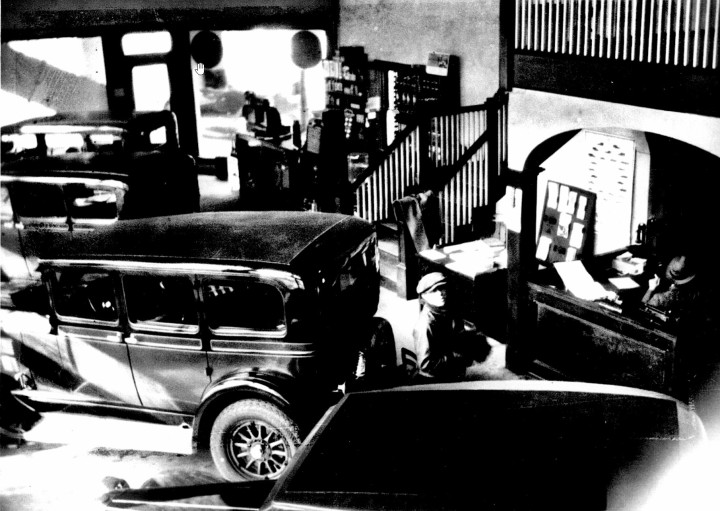 1920s New Car Showroom