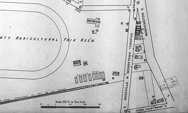1915 Rockville Sanborn Map
