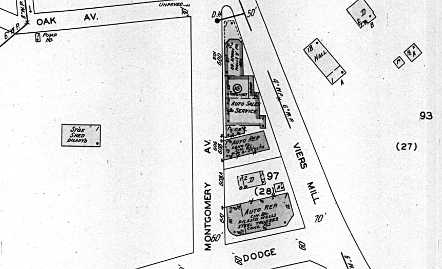 1949 Sanborn Map Rockville