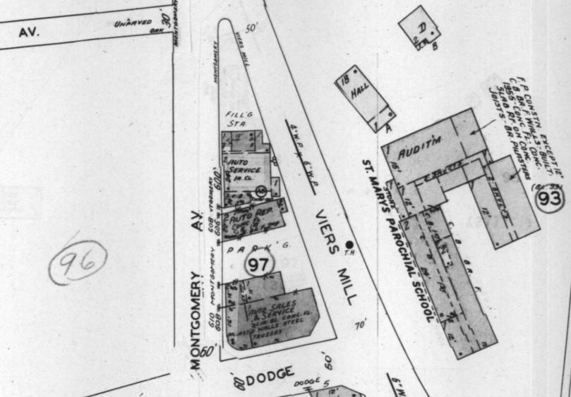 June 1949 Rockville Sanborn Map