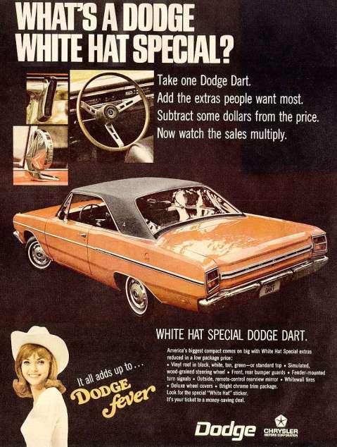 Dodge White Hat Specials