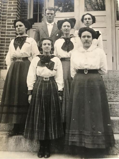 Old Rockville High School class photo