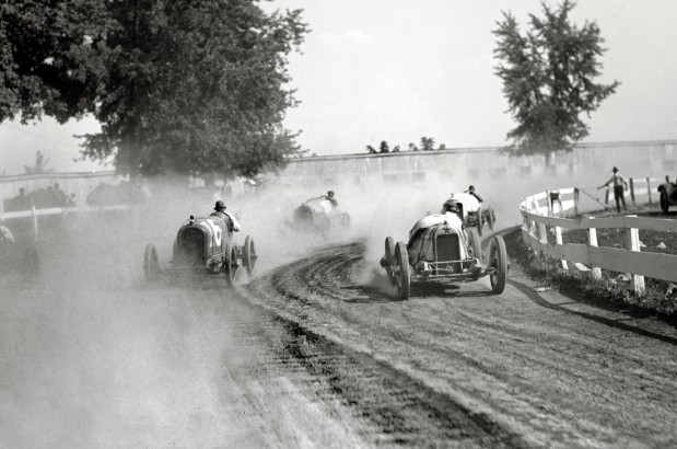 August 1923. Auto race, Rockville Fair