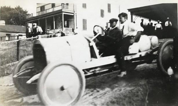 August 1923. Auto race, Rockville Fair