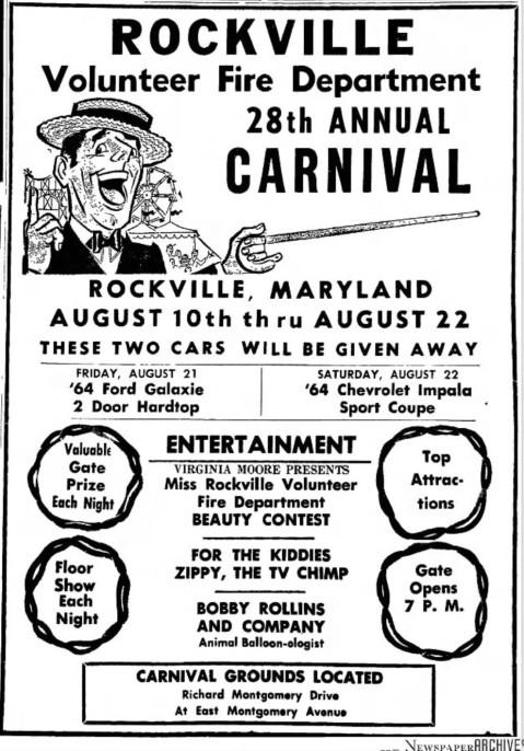 Rockville Volunteer Fire Department Carnival