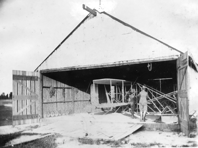 1908 Wright Brothers airplane