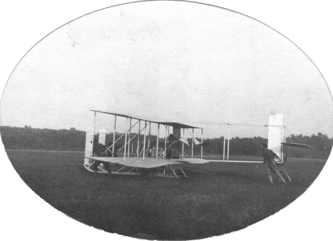 Wright Brothers Plane 1908