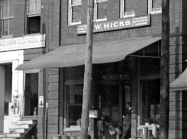 W. Hikcs Genral Store Rockville 1914
