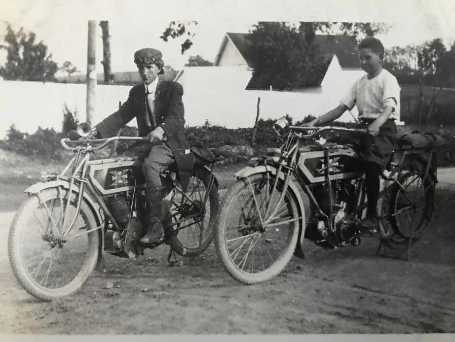 1914 Excelsior motorcycle
