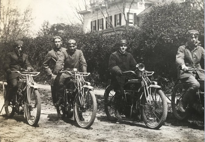 Park Ave Motorcycle Club, 1912