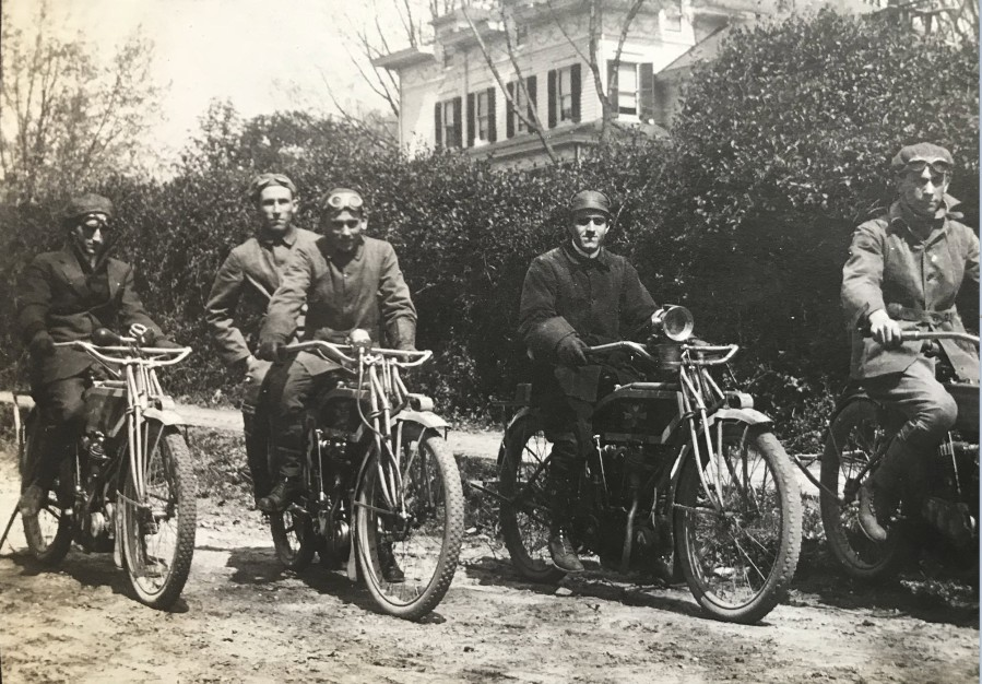 1912 Exclesior motorcycle