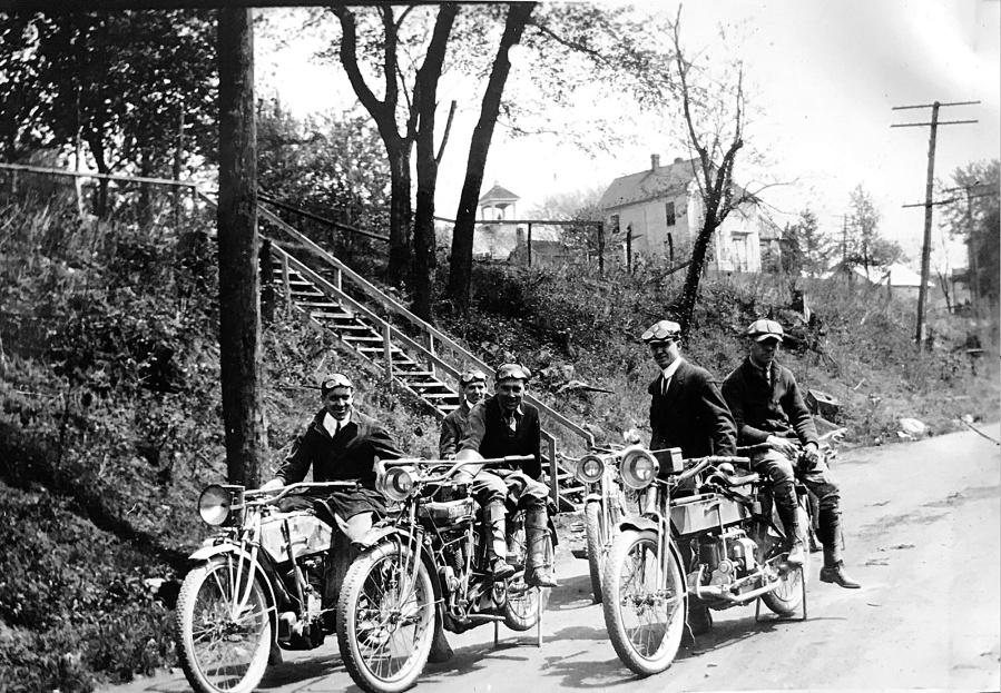 Motorcyclists on Rt 118 in Darnestown