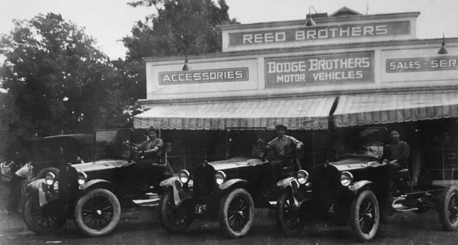 Reed Brothers Dodge, 1927