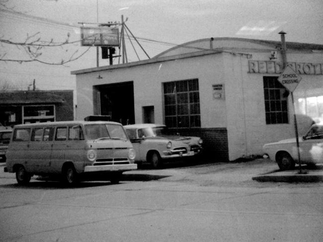 1960s Service Department