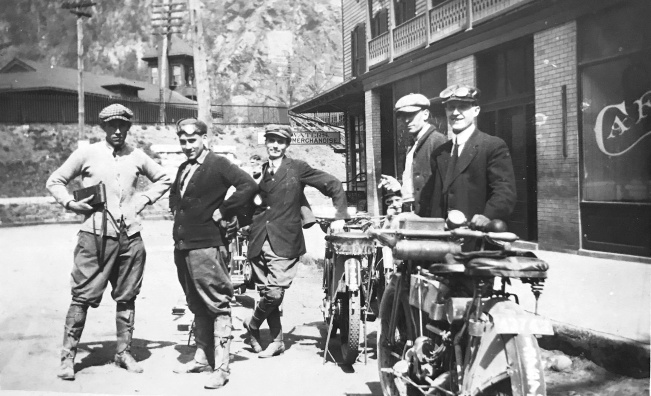 Early 20th century motorcycle club