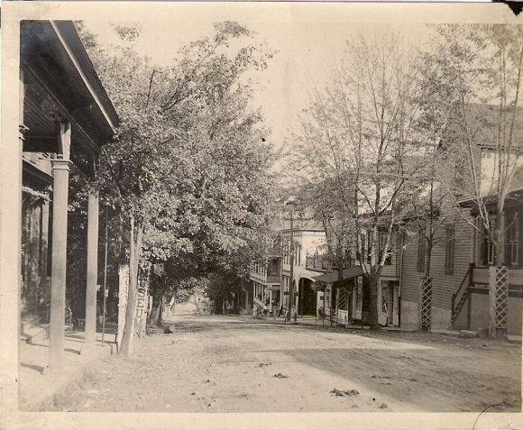Unknown street in Rockville