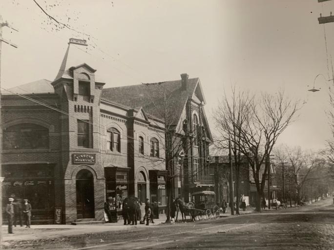 Vinsons Drug Store 1912
