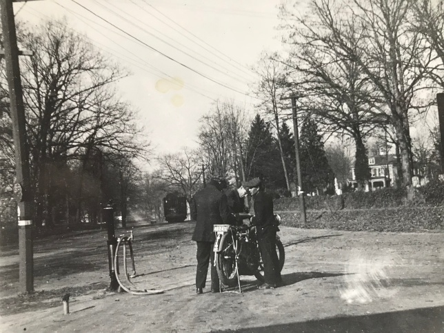 1915 First Gas Station