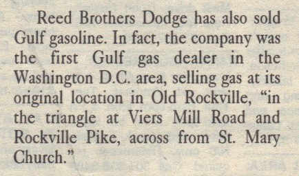 First Gulf Gas Dealer in Washington DC