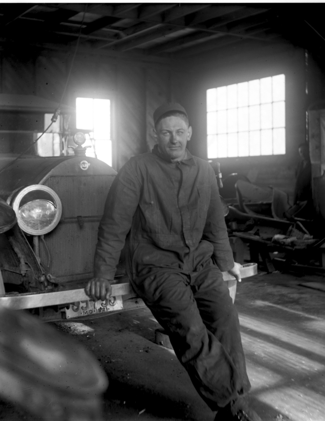 1921 – Lester Wilson, mechanic (and first Service Manager)