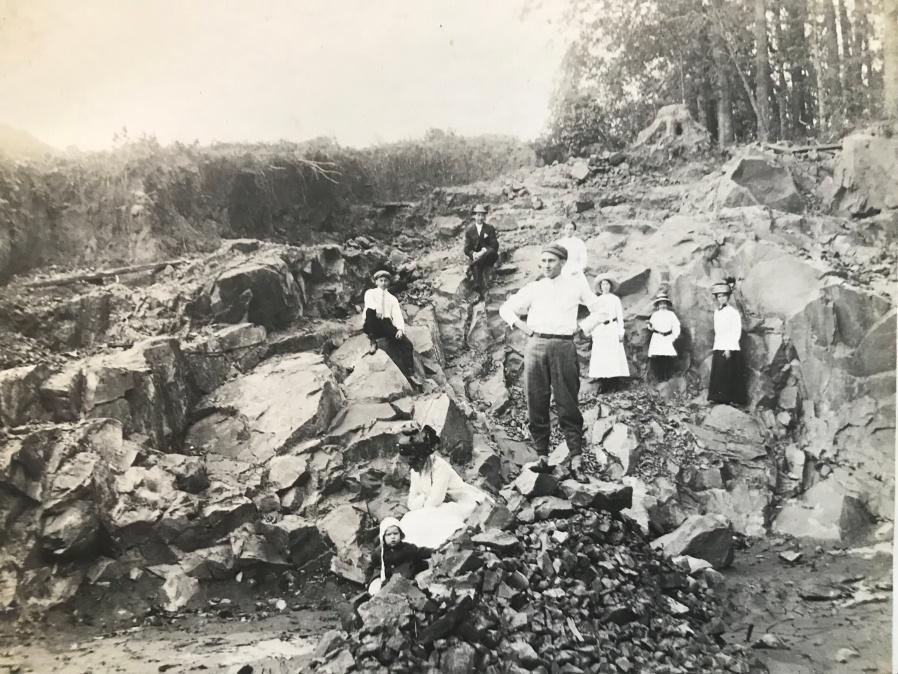 Seneca Quarry early 1900s