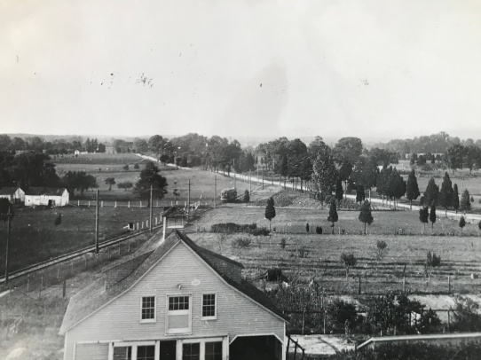 Tenallytown and Rockville Pike Trolley Line, 1910