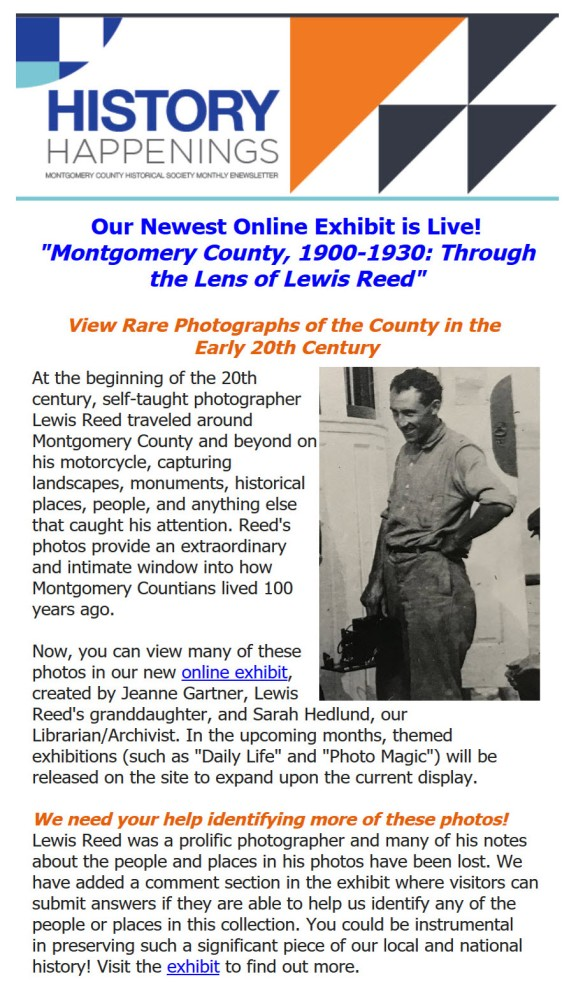 Through the Lens of Lewis Reed online exhibit