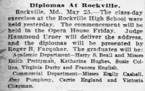 The Baltimore Sun 26 May 1910