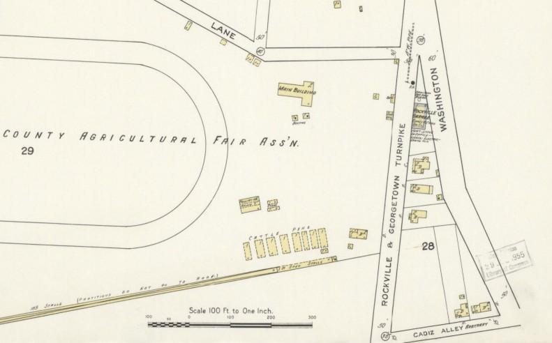 Nov 1915 Rockville Maryland Sanborn Map