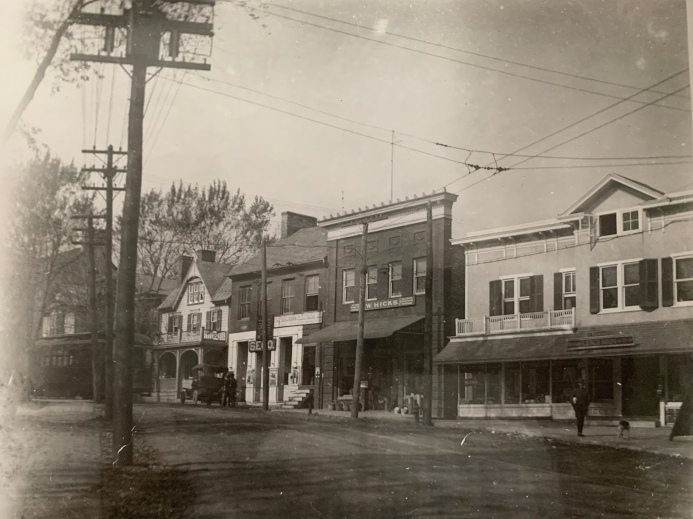 North side of East Montgomery Ave Rockville, 1914