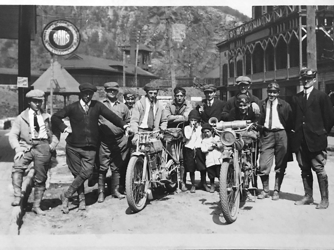 Reed Motorcycle Club, 1912