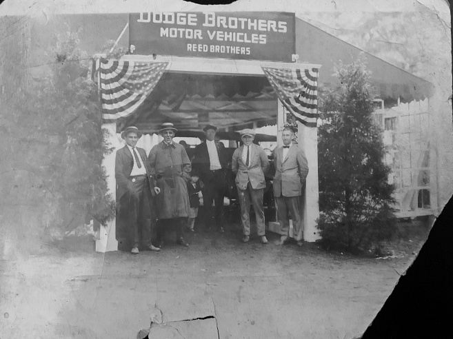 Dodge Brothers Motor Vehicles 4th of July Display