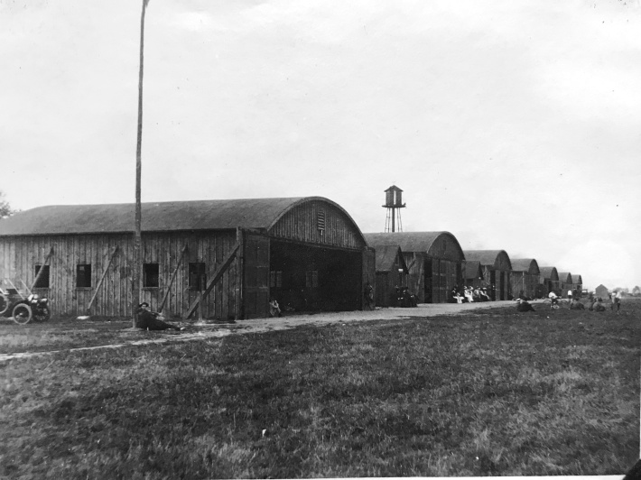 Airplane Hangars at Fort Myers, Virginia