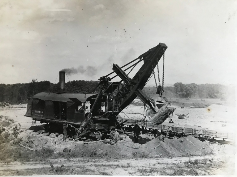 1912 Bucyrus steam shovel