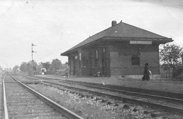 Barnesville B&O Train Station 1912
