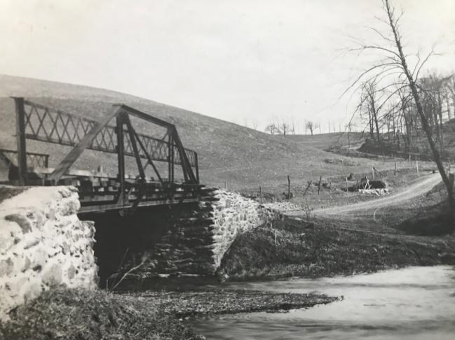 Germantown Road at Seneca Creek 1907