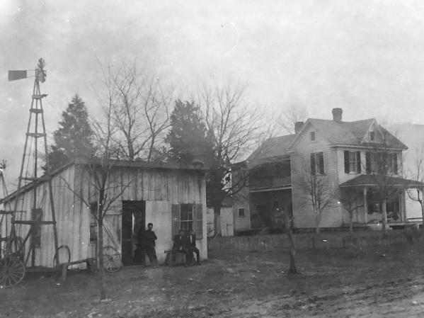 Philip Reed Blacksmith Shop